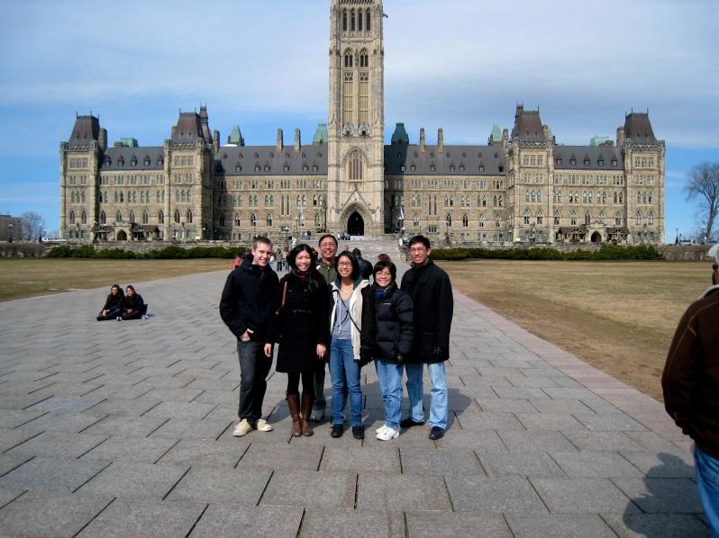 Parliament Hill, Ottawa, ON, 2009.