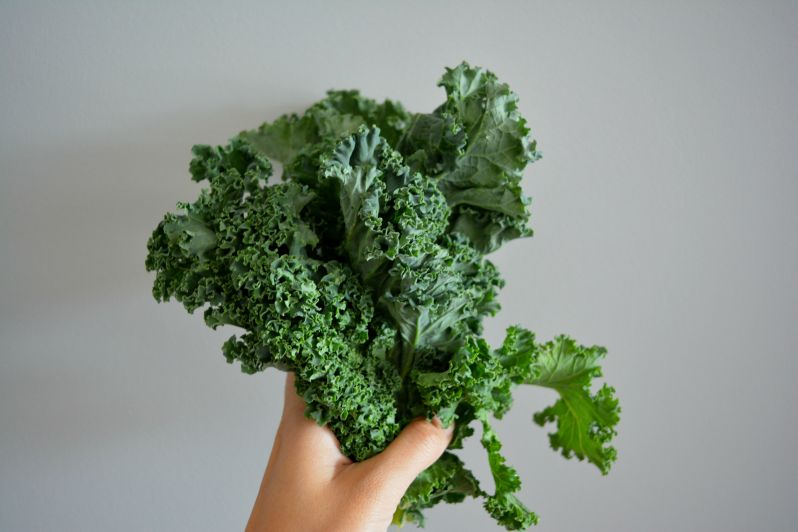 Kale, you wonderful but not so photogenic vegetable., I love you.